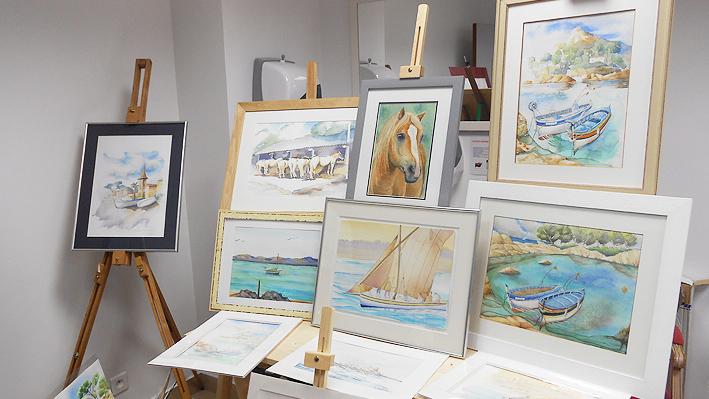 Notre exposition de Peinture
