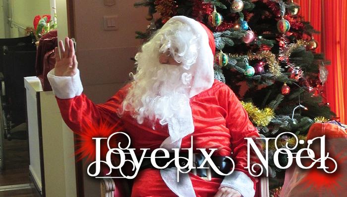 Le Père Noël à la Bastide de Pégomas