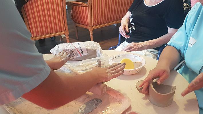 Atelier poterie autour de l'argile à la Bastide de Pégomas
