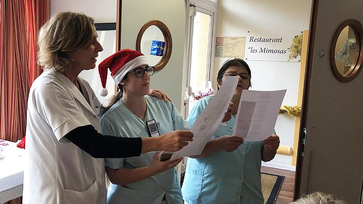Noël pour les enfants du personnel de la Bastide