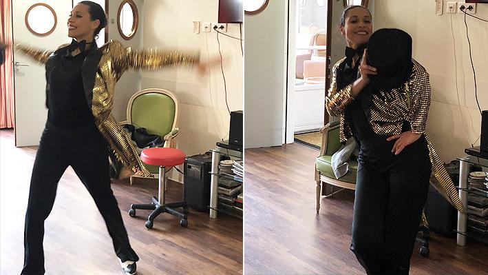Animation autour de la danse avec des claquettes à la Bastide de Pégomas