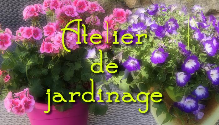 Atelier de jardinage à la Bastide de Pégomas