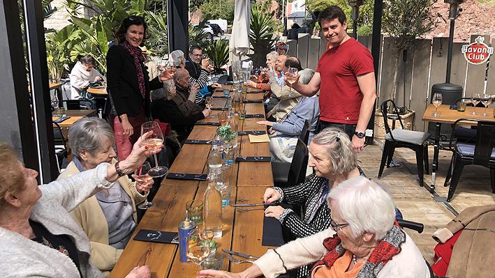 Sortie au restaurant - Port de la Rague