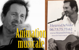 Animation musicale avec HeuresDeVols