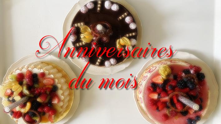 Les anniversaires du mois pour nos résidents de la Bastide de Pégomas