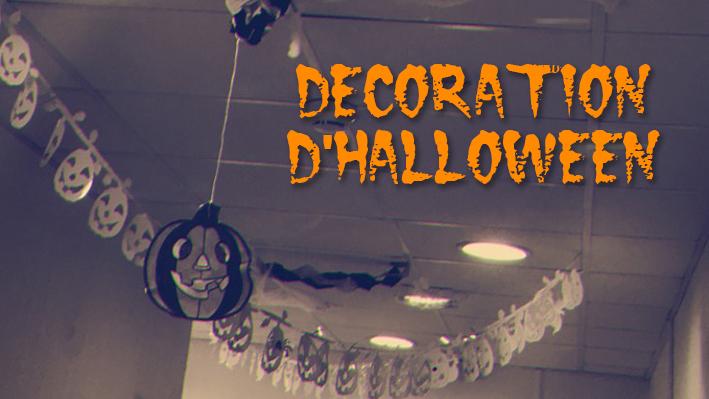 Décoration d'Halloween à la Bastide de Pégomas