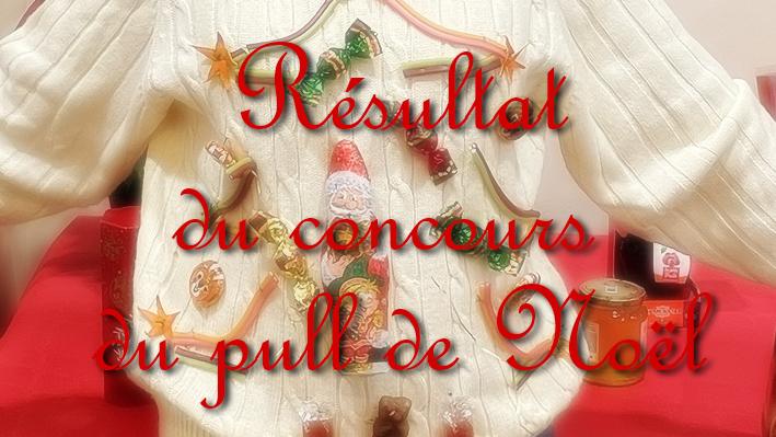 Résultat du concours du plus pull de Noël de la Bastide