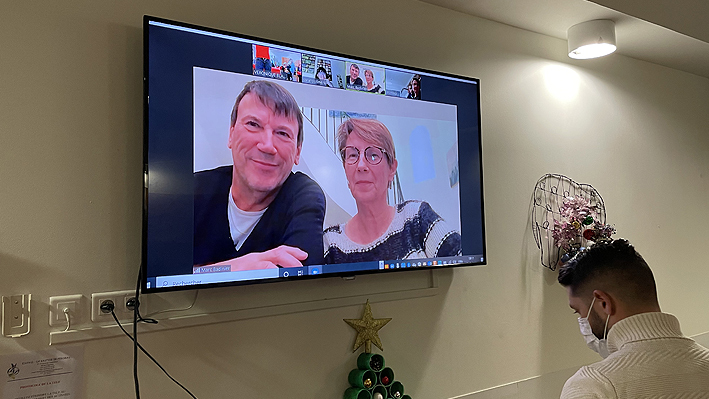 Loto interactif avec les familles à la Bastide