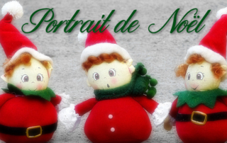 Portrait de Noël de nos résidents de la Bastide de Pégomas