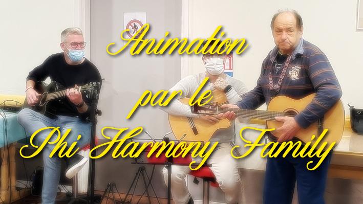 Animation par le groupe Phi Harmony Family