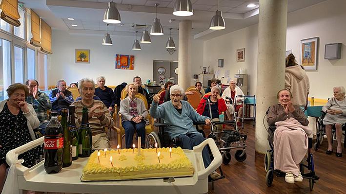 La fête des anniversaires pour nos résidents de la Bastide