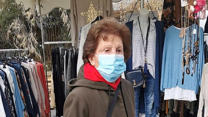 Première sortie pour nos résidents de la Bastide au marché de Pégomas