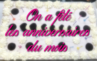 Les anniversaires du mois de Mars à la Bastide de Pégomas