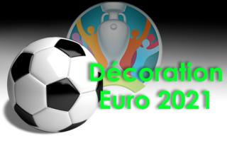 Atelier décoration Euro 2021 par les résidents du Bat. B de la Bastide