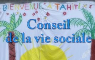 Conseil de la vie sociale à la Bastide de Pégomas