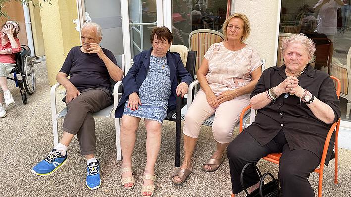 Anniversaires du mois d'octobre pour quelques résidents de la Bastide de Pégomas