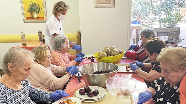 Atelier de confitures pour nos résidents de la Bastide de Pégomas