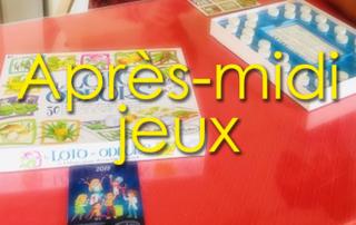 Après-midi jeux pour nos résidents à la Bastide de Pégomas