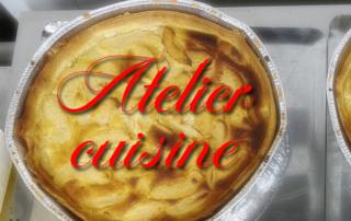 Atelier cuisine- confection de tartes, par nos résidents de la Bastide de Pégomas