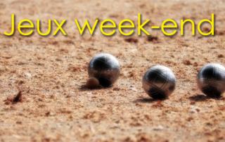 Jeux du week-end à la Bastide de Pégomas