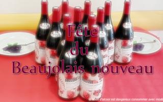 Fête du Beaujolais nouveau pour nos résidents de la Bastide